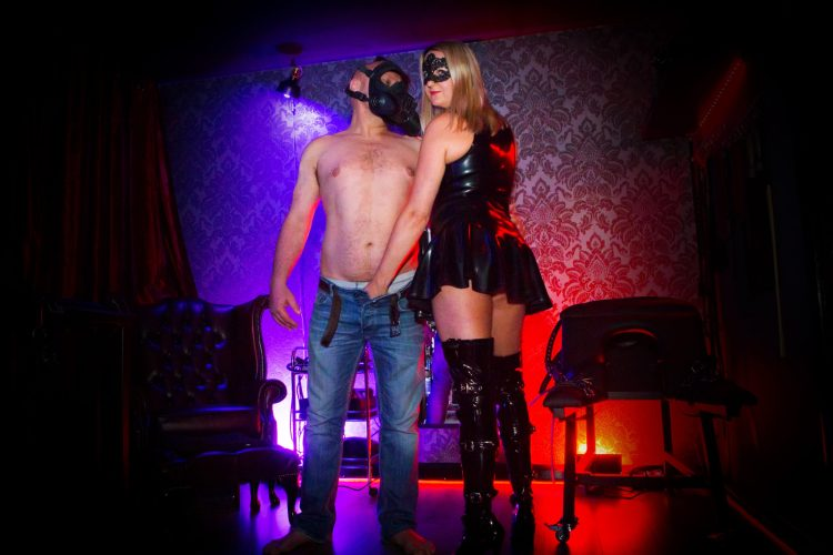 Forced Bi Mistress Dominatrix sessions in Northampton. Come and learn how to suck cock.