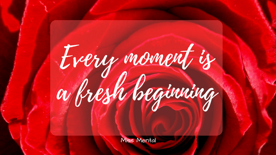 motivational quote - empowering quote - miss mental - red rose