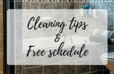 cleaning schedule, house cleaning tips, free cleaning schedules, miss mental