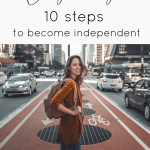 codependency - 10 steps to become independent. You can overcome anything with these ten steps. Learn to be on your own and love yourself, you won't need anyone to get by. Easy and practical steps that will teach you independence. Improve your mental health and become a stronger person. | Carreer | Personal development | Improve your life | self-growth | self-care #codependent #mentalhealth #personaldevelopment