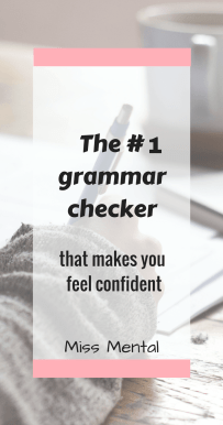 The rank 1 grammar checker that makes you feel confident, plagiarism checker, learn to write better #grammar #writing #blogger #blogging #bloggingtool