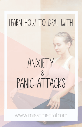 How to stop a panic attack and deal with anxiety the healthy way | Learn how to cope with anxious thoughts and take your life back | general anxiety GAD , PTSD, OCD, mental illness | Improve your mental health and learn how to live a life you love #mentalhealth #anxiety #ptsd #GAD #panicattacks