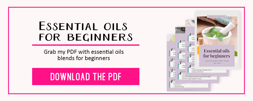 Become a member of the misss mental newsletter and gain access to the free resource library. Download the free printable essential oil beginnersguide ebook