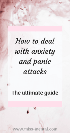 how to deal with panic attacks and anxiety, panic attack, anxiety attack. Learn to cope with anxiety and imrpove your mental health @miss_mental #mentalhealth #anxiety #mentalillness