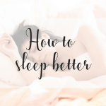 How to sleep better | Improve your sleeping quality | how to deal with nightmares and other things that can hurt your sleep quality by miss mental