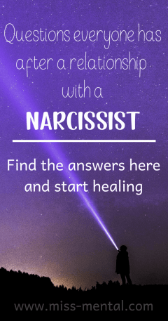 Questions everyone has after a relationship with a narcissist -