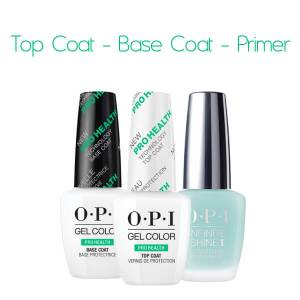 Top Coat - Base Coat - Primer