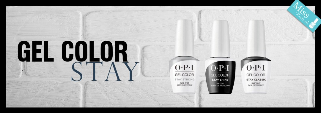 OPI GELCOLOR STAY STRONG