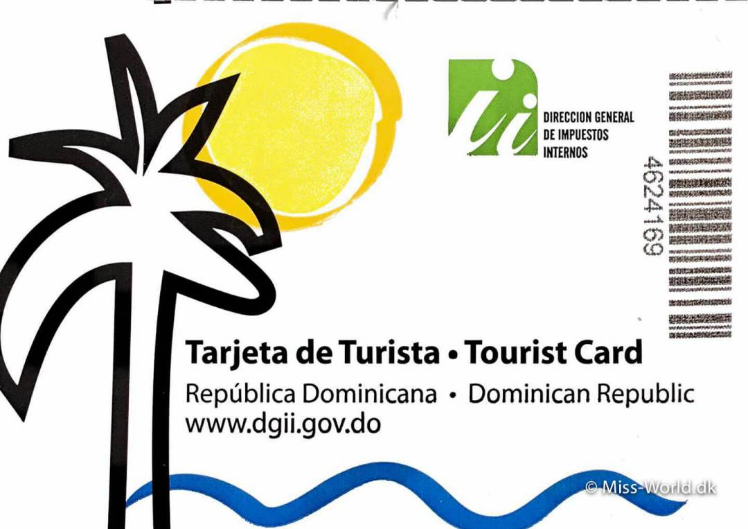 Turistkort til Den Dominikanske Republik