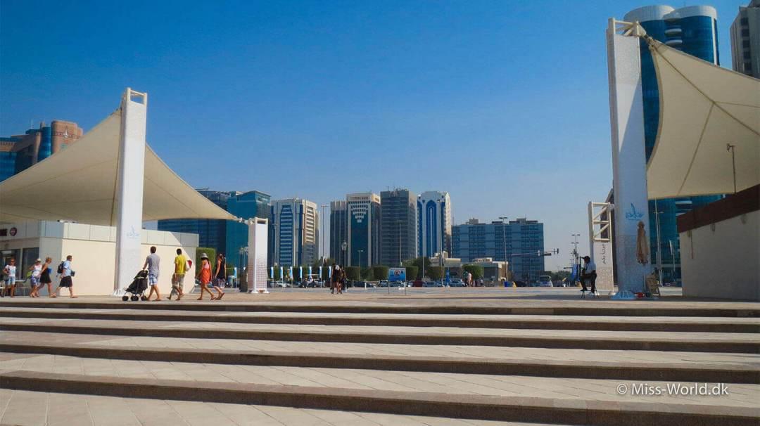 Abu Dhabi Beach The Corniche Road