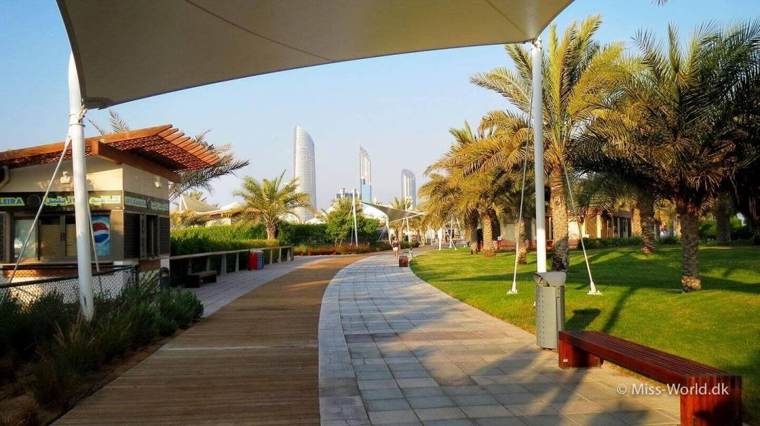 Abu Dhabi Beach The Corniche