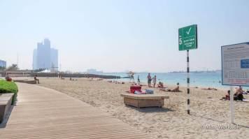 Abu Dhabi Beach - Corniche Beach