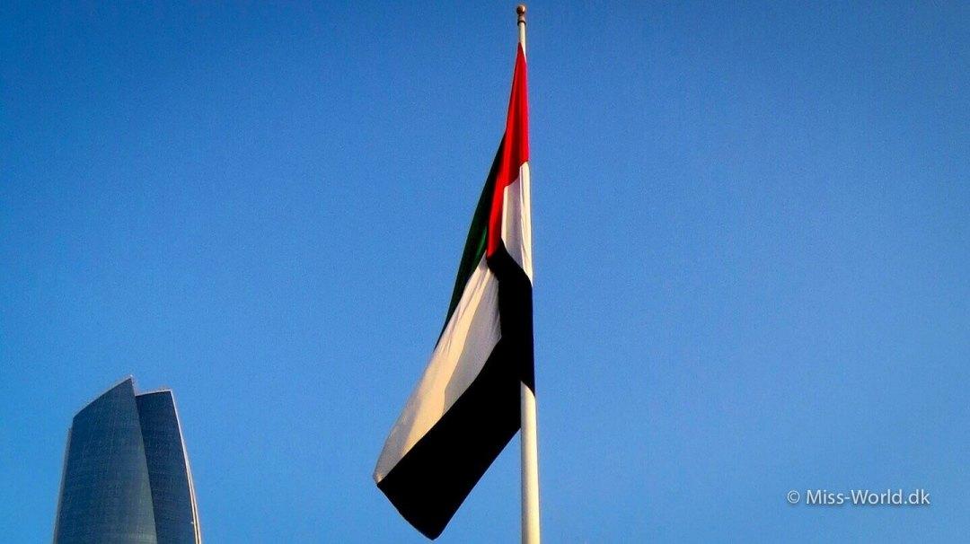 Abu Dhabi flag - Dubai flag
