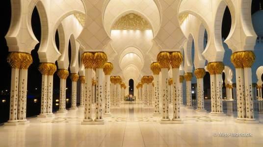 Sheikh Zayed Mosque Abu Dhabi - Columns