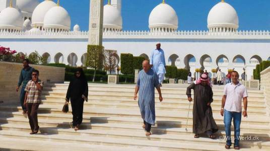Sheikh Zayed Mosque Abu Dhabi - Friday Prayer