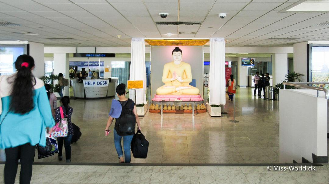 Ankomst Sri Lanka Lufthavn