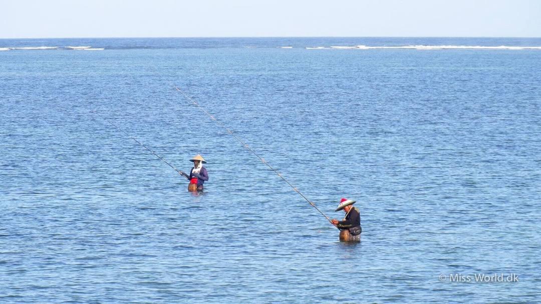 Fishermen in Sanur Bali