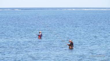 Fishermen in Sanur Beach Bali