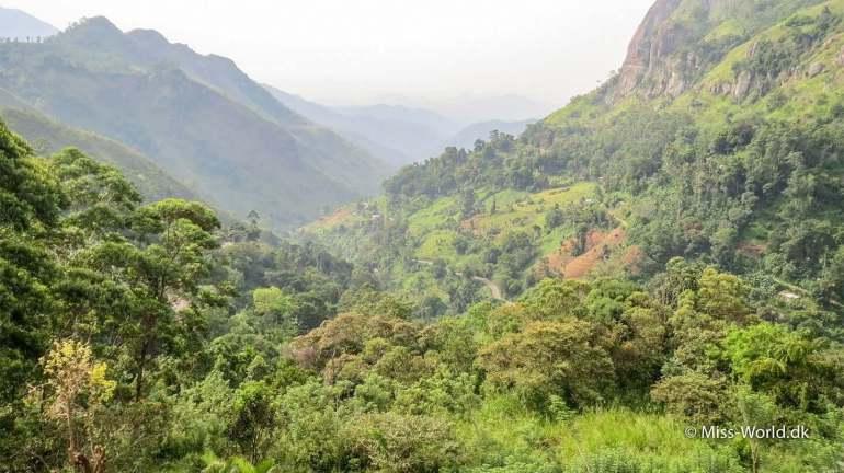 Ella Gap Sri Lanka Dreamy view