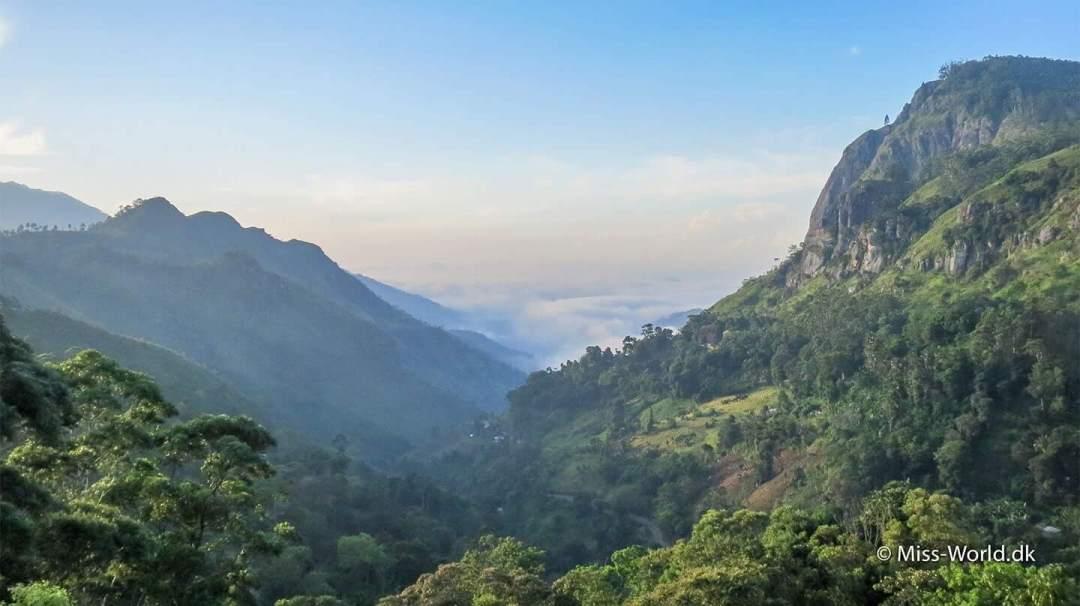 Beautiful Ella Gap in Ella, Sri Lanka