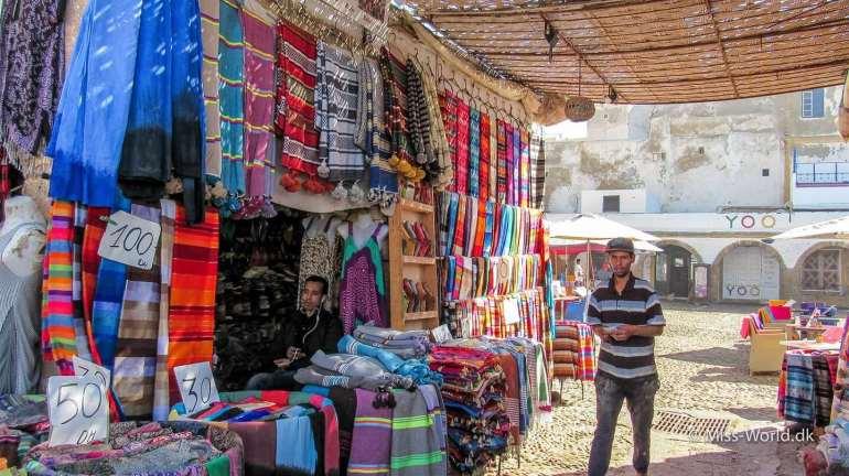 Bazar Essaouira Medina Morocco