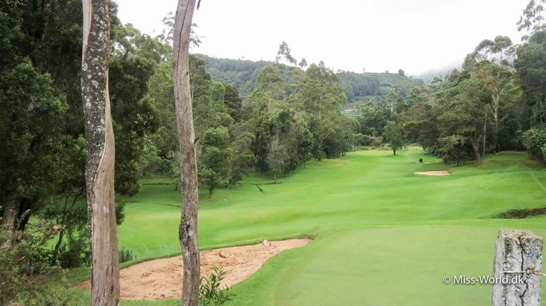 Golfbanen i Nuwara Eliya