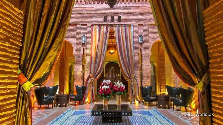 Luksus hotel Marrakech