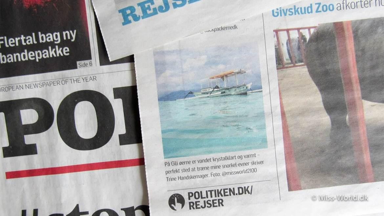 Politiken Rejser Miss-World.dk har været i avisen