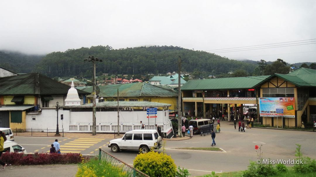 Nuwara Eliya Sri Lanka - Bus station