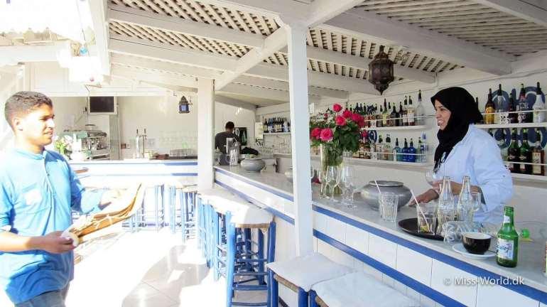 Taros Restaurant Essaouira Morocco Bar