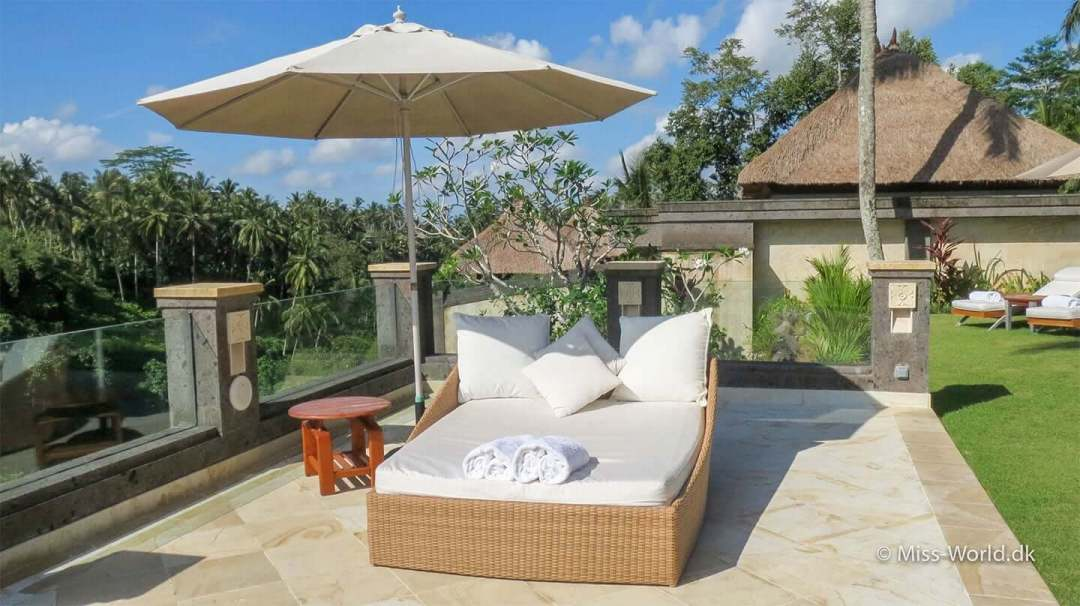 Viceroy Bali Double Sun Lounger - Couldn't you just stay here forever?
