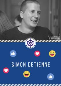 Simon Detienne - Calendrier Digital du 5 décembre 2017 - Projet de Miss Marketing