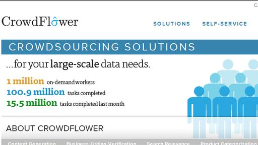 Crowdflower-Homepage