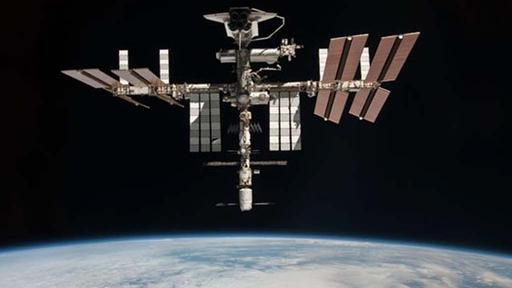 Die internationale Weltraumstation ISS