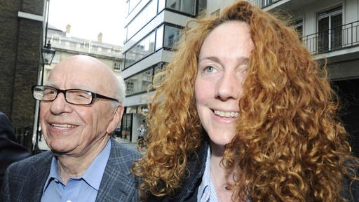 Rupert Murdoch und Rebekah Brooks