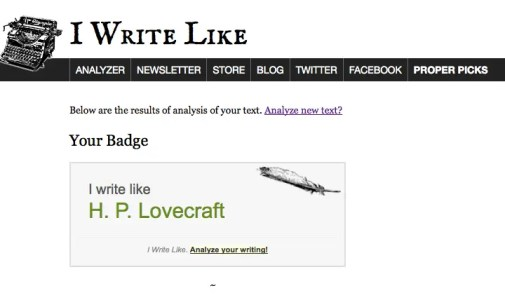 IWL Lovecraft