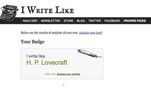 IWL Lovecraft