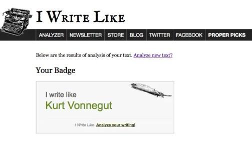 IWL Vonnegut