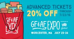 GFAF 20 percent off tickets