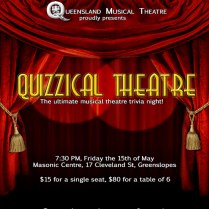 Quizzical Theatre Banner