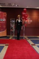 Myself (Karen) aka Miss Apple on the red carpet