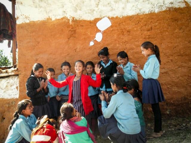 © Clara.Go The Bubble Project a Ganga Secondary School, Tesinge (Mangalsen, Achcham district)