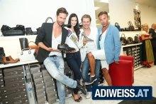 Auf Schuh-Trendjagd mit Adi Weiss, Michael Lameraner und Musicalstar Uwe Kröger