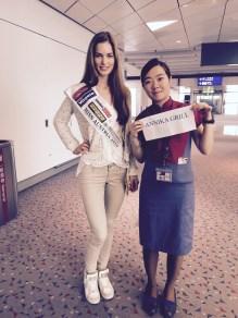 Annika Grill - Miss World 2015 - Anreise - 19.11 (1)