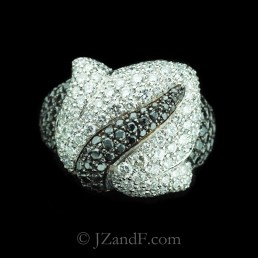 original-177-762-de-grisogono-feuilles-collection-white-black-diamond-ring-in-white-gold-1
