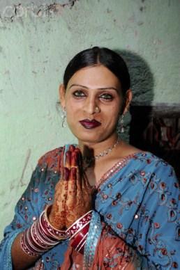 Hijra in Andheri Suburb in Mumbai