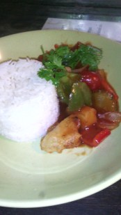 Fried Fish in Sweet and Sour Sauce