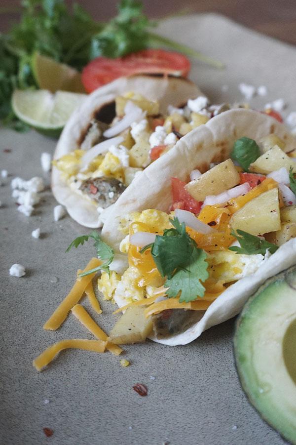 Breakfast-Taco-Recipe, Tex-Mex, Easy & Quick