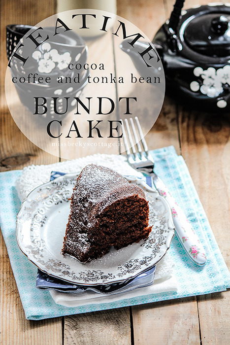 coffee tonka bean bundt cake