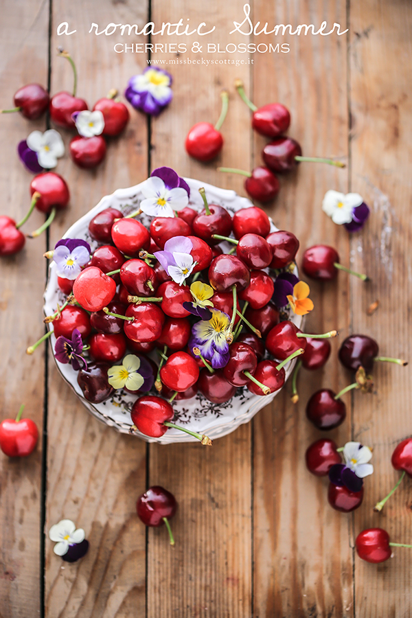 romantic summer cherries